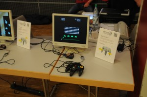 Space Invaders auf einem Gameduino von Frank