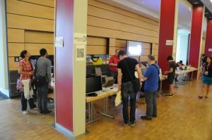 Unser Stand auf der MakerFaire Hannover 2014