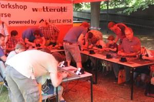 Lötworkshop bei Watterott