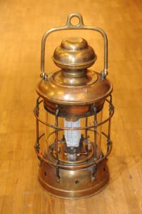 Olafs Steampunk-Lampe