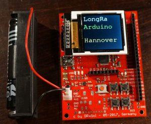 LoRa Platine - Arduino Hannover